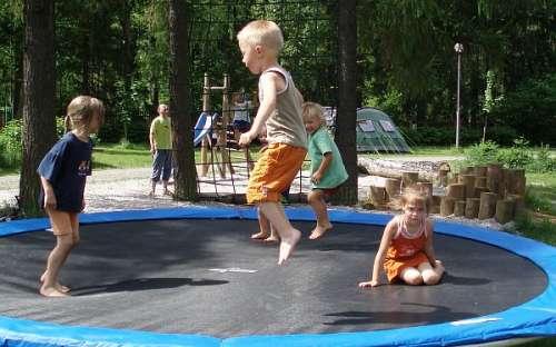 Kemp Karolina - dětské hřiště