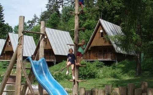 Kemp Karolina dětské hřiště