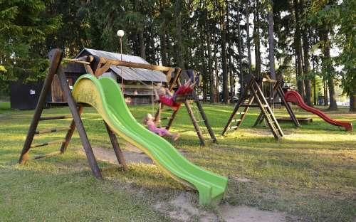 Kemp Olšina Lipno - dětské hřiště