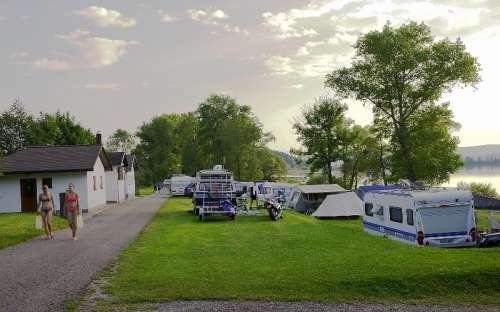 Camping Olšina Lipno - tenten, caravans
