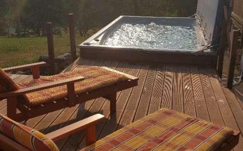 Chalupa Majdalenka - bazen