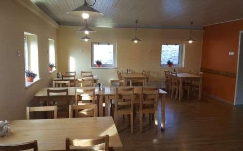 Chata Ťapka - dining room