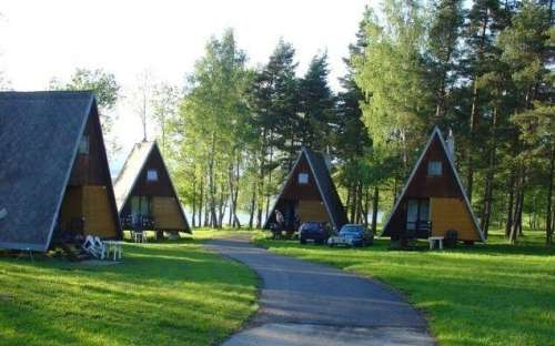 Camping Olšina Lipno - cottages