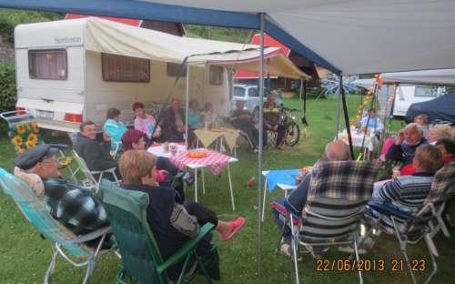 Caravane du Camping Karolina