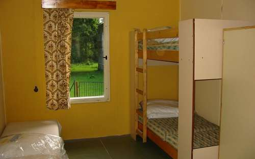 Kemp Karolina - ubytovna pokoj