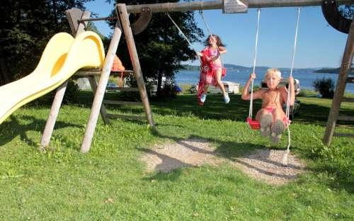 Kemp Jenišov - dětské hřiště