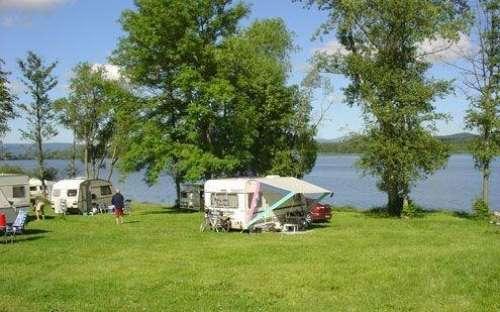 Camping Olšina Lipno - caravans