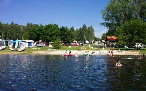 Kemp Jenišov - přehrada Lipno