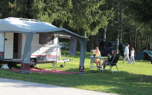 Camping Jenišov - Wohnwagen