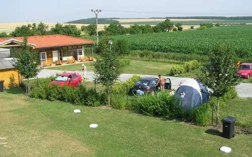 Camp Pohoda Únanov - kamperen