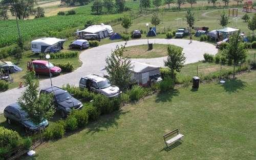 Camp Pohoda Únanov - Wohnwagen