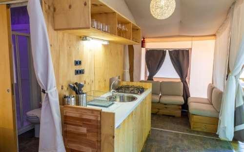 Kemp Santapomata - Stany, karavany
