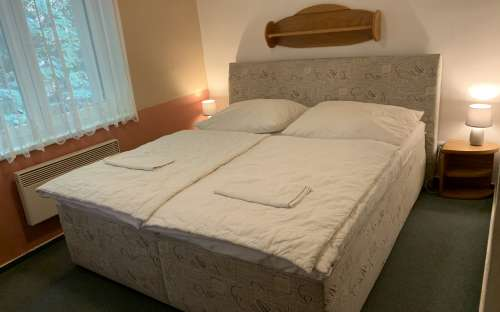 Pokoj v chatě Smrková