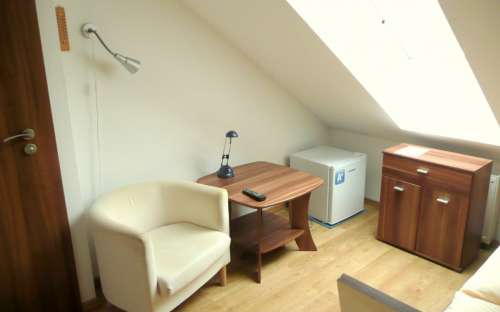 Pokoj č. 4 v AMI penzionu Brno