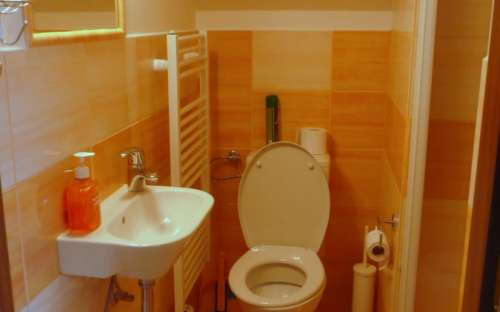 Badkamer voor kamer nr. 4