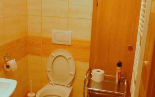 Koupelna k pokoji č. 2 v Ami