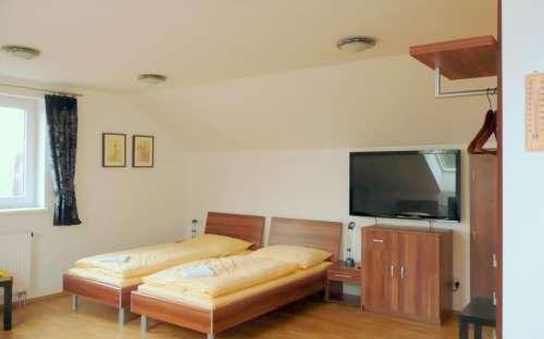 Pokoj č. 5 v AMI penzionu Brno