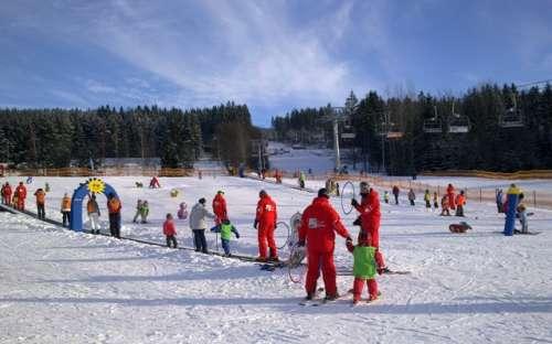 Dětské hřiště Foxpark Skiareál Lipno