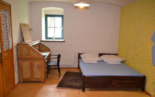Apartmán U řeky Moravské Dyje - ložnice