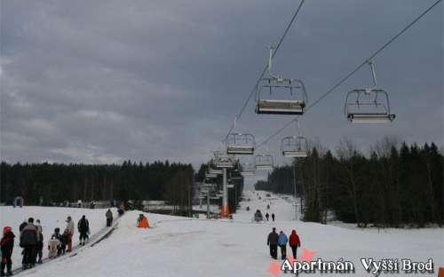 Lanovka Skiareál Lipno