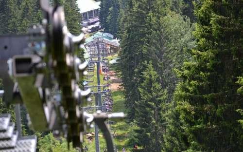 Lanovka Ski Bike areál Špičák