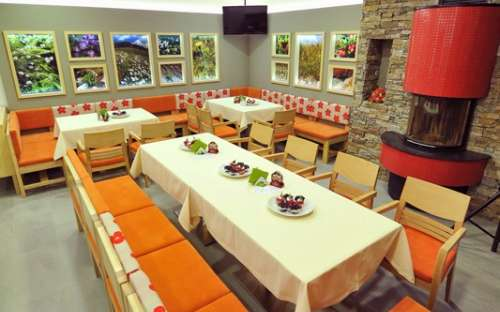 Jiřinkaのレストラン -  45の場所の容量