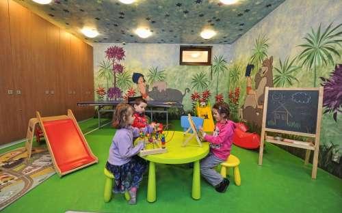 Jiřinkaの子供用プレイルーム
