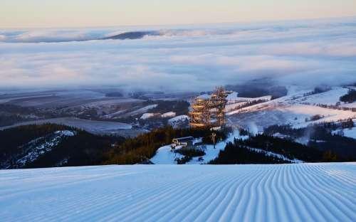 Stezka v oblacích Dolní Morava