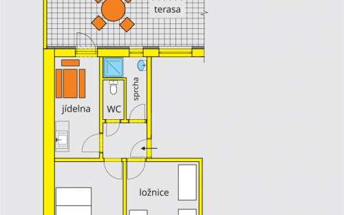 Luxusní apartmán A 4