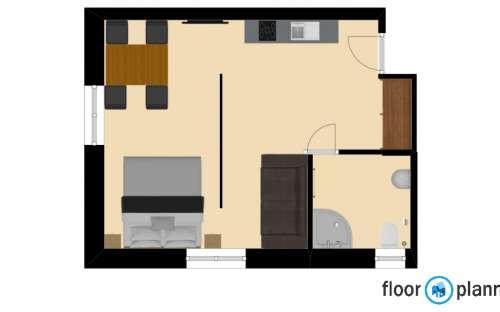 Apartmán 2, 3-4 osoby