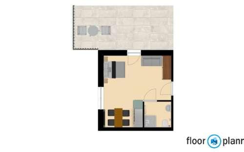 Apartmán 1 , 2-3 osoby