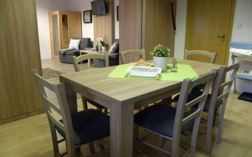 Chestnut apartment with infrared sauna 2-4 (max. 5) persons - dining room
