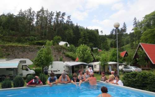 Kemp Karolina - bazén