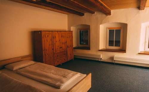 Čtyřlůžkový pokoj v apartmánu