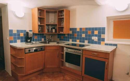 Kuchyň ve společných prostorách