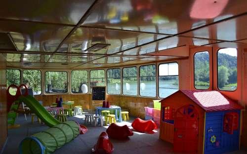 Camp Bítov - dětský koutek