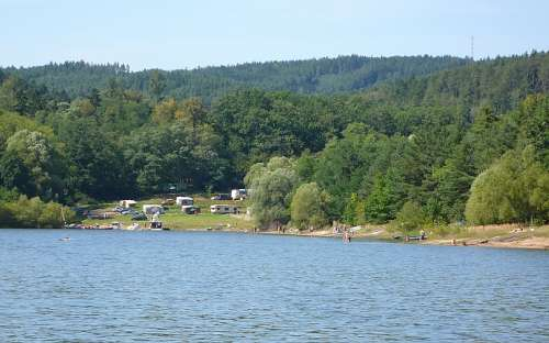 Camping Bukovanská Zátoka - Orlická přehrada