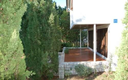 Veranda bungalovu