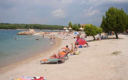 Pěkná pláž