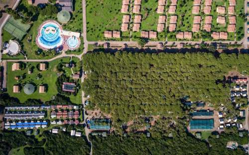 Camping California - pohled zhora