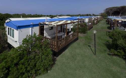 Camping California - mobilní domy