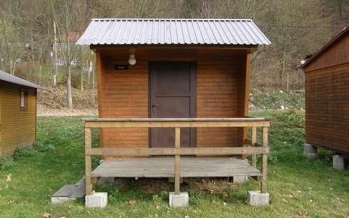 Camp Bítov - 2 lůžková chatka