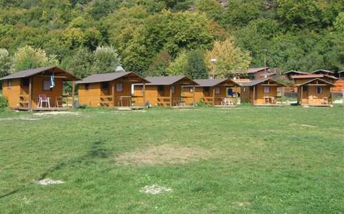 Camp Bítov - 4 Betthüttenboden