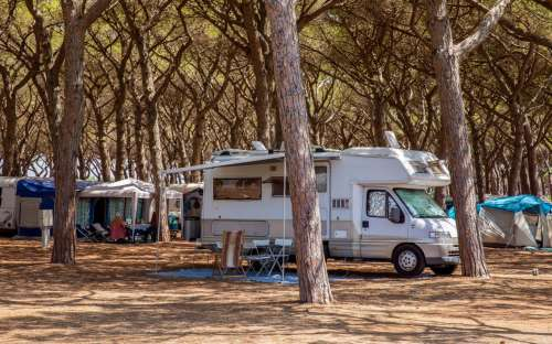 Camping California - karavany a obytňáky