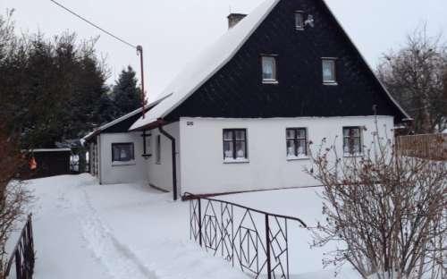 Vakantiehuis Rudná Potůčková, accommodatie Jeseníky, Moravië-Silezië