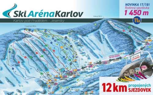 Skigebied Karlov