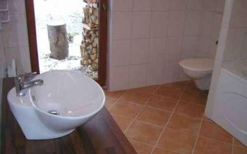 Chalupa Dolní Morava – část A – západ: Koupelna