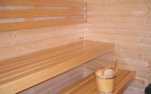 Chalupa Dolní Morava – část B – jih: Sauna