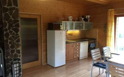 Chalupa Dolní Morava – část A – západ: Kuchyň