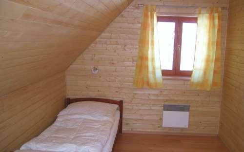 Chalupa Dolní Morava – část A – západ: ložnice